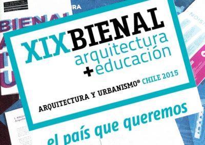 XIX Bienal de Arquitectura de Chile 2015
