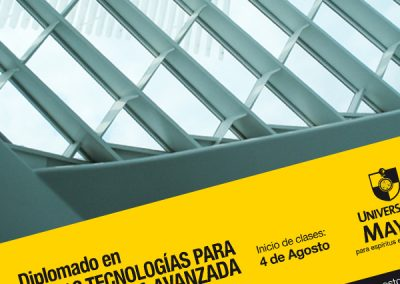 Diplomado en Innovación y Nuevas Tecnologías en Arquitectura