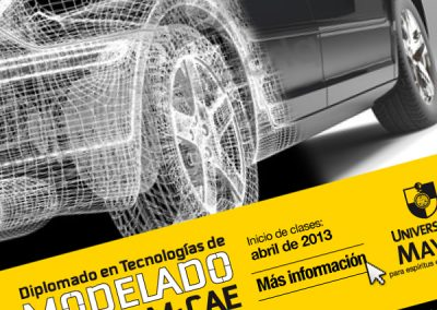 Diplomado en Tecnologías de Modelado CAID-CAM-CAE