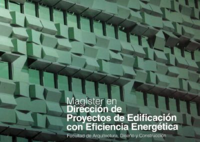 Magíster en Eficiencia Energética en Edificaciones