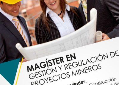 Máster en Gestión y Regulación de Proyectos Mineros