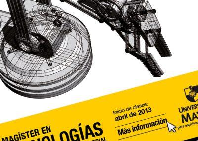 Magíster en Tecnologías de Diseño y Producción Industrial