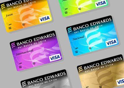 Tarjetas Banco Edwards
