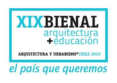 Marca gráfica XIX Bienal de Arquitectura de Chile