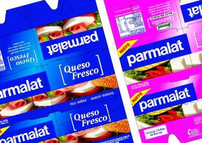 Packaging Quesillos Parmalat